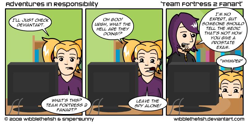 Team Fortress 2 Fanart